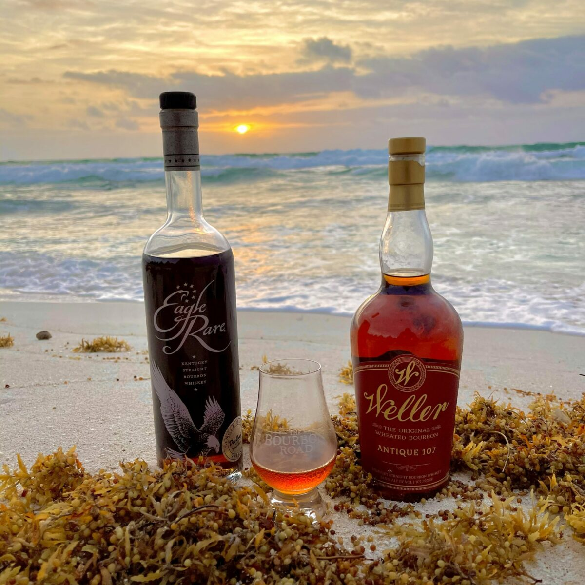 In Mexico with Weller 107 and Eagle Rare