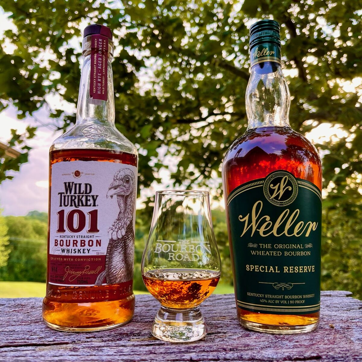Reminiscing with Weller and Wild Turkey
