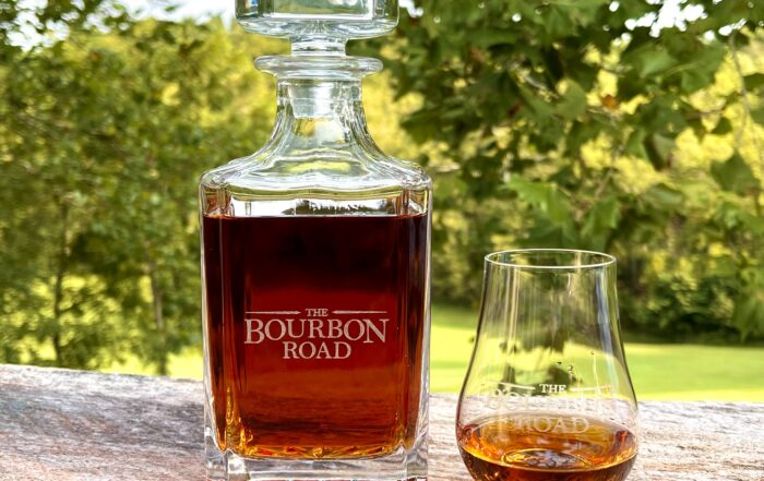Bourbon Road Whiskey Decanter